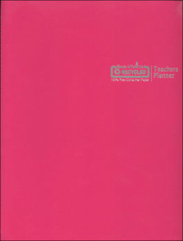 Teacher's Planner Dark Pink