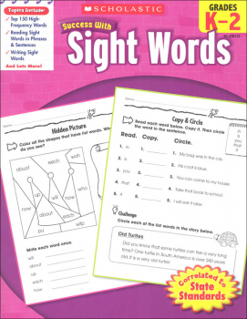 Sight Word (Scholastic Success With)