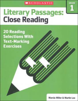 Literary Passages: Close Reading Grade 1