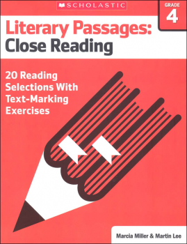Literary Passages: Close Reading Grade 4