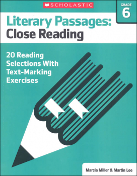 Literary Passages: Close Reading Grade 6