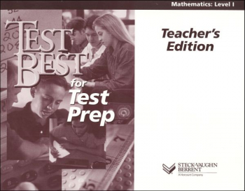 Test Best for Test Prep Math Level 1 Teacher's Edition