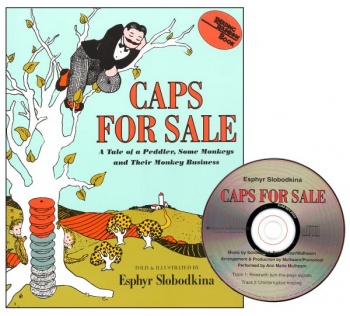Caps for Sale Book and CD Set