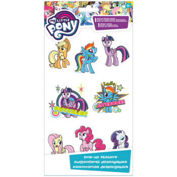 My Little Pony Pop Up Stickers (4x8)