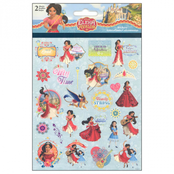 Princess Elena Foldover Stickers