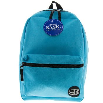 Cyan Basic Backpack 16""