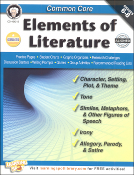 Common Core: Elements of Literature (Mark Twain Media Common Core Series)