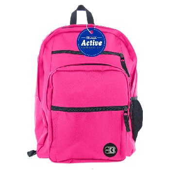 Fuchsia Active Backpack 17""
