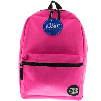 Fuchsia Basic Backpack 16""
