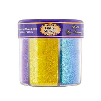Glitter Shaker: 6 Neon Colors (2.12 oz/60g)