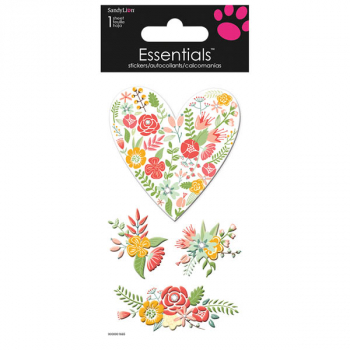Rosettes Essentials Stickers