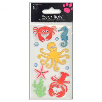 Sea Creature Essentials Stickers