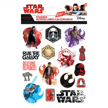 Star Wars 8 Foldover Sticker