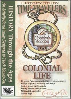 Time Travelers History Study CD: Colonial Life