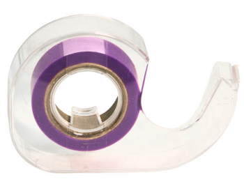 "Purple Roll 1/2""  Highlighter Tape in Dispnser"