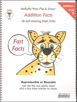 Fast Facts Flip & Draw Book - Addition 1