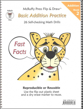 Fast Facts Flip & Draw Book - Addition 2
