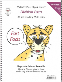 Fast Facts Flip & Draw Book - Division 1