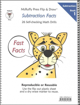 Fast Facts Flip & Draw Book - Subtrac 1