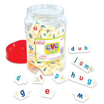 CVC Tri-Blocks Tub with 90 pieces