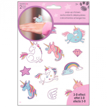 Unicorns Pop Up Stickers (2 Sheet)