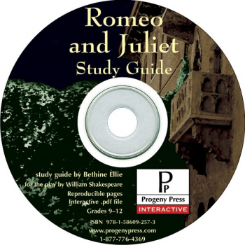 Romeo and Juliet Study Guide on CD
