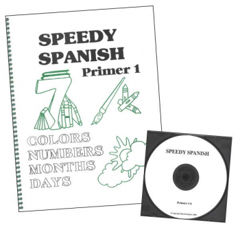 Speedy Spanish Primer Book & CD