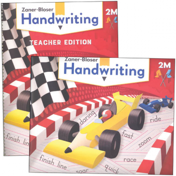 Zaner-Bloser Handwriting Grade 2M Home School Bundle - Student Edition/Teacher Edition (2020 edition)