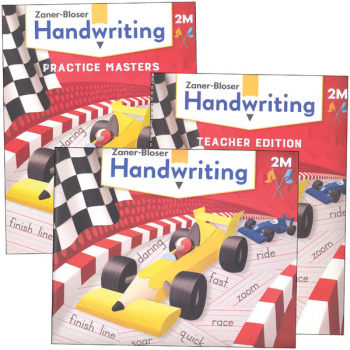 Zaner-Bloser Handwriting Grade 2M Homeschool Bundle - Student Edition/Teacher Edition/Practice Masters (2020 edition)