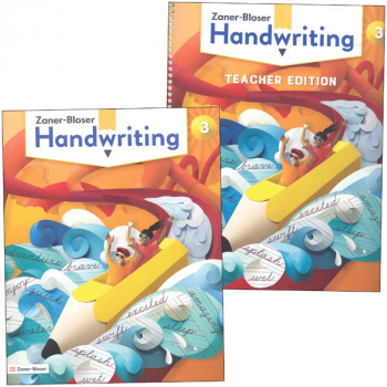 Zaner-Bloser Handwriting Grade 3 Home School Bundle - Student Edition/Teacher Edition (2020 edition)