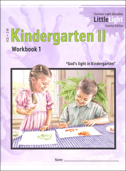 Kindergarten II - LittleLight Workbook 1