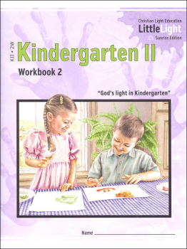 Kindergarten II - LittleLight Workbook 2