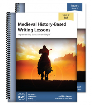 Medieval History-Based Writing Lessons Teacher & Student Set