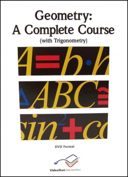 Geometry Complete Course - Module D - DVD