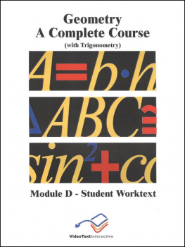 Geometry Module D WorkText