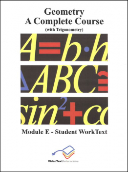 Geometry Module E WorkText