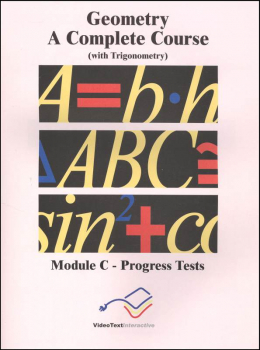 Geometry Module C Progress Tests
