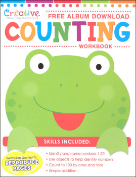 Creative Teaching Materials Counting Workbook