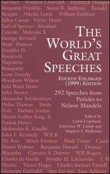 World's Great Speeches