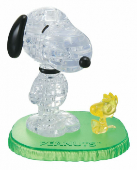 3D Crystal Puzzle - Snoopy & Woodstock