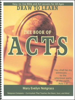 Draw to Learn the Book of Acts