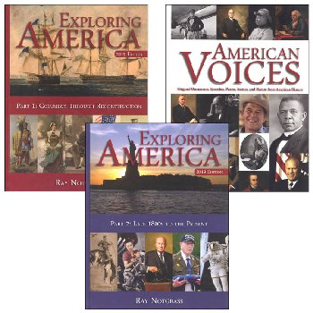Exploring America Curriculum Package(2019 Ed)
