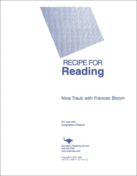 Recipe for Reading Lined Writing Paper 100 sheets