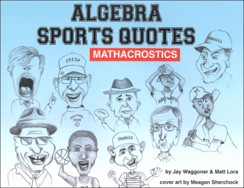 Algebra Sports Quotes Mathacrostics