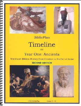 BiblioPlan Ancient History Timeline & Timeline Figures, 2nd Edition
