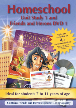 Friends & Heroes Series 1 Episode 1 Homeschool Unit Study DVD & CD-ROM