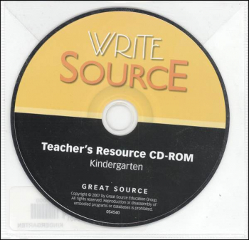 New Generation Write Source Kindergarten Teacher Resources CD-ROM