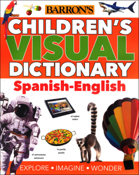 Barron's Children's Visual Dictionary: Spanish-English
