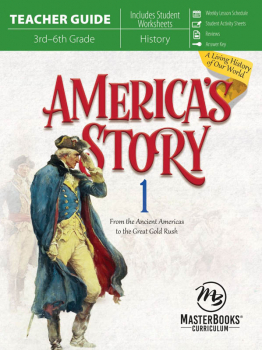 America's Story Volume 1 Teacher