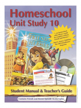 Friends & Heroes Series 1 Episode 10 Homeschool Unit Study CD-ROM